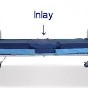 mattress with Vicair inlay