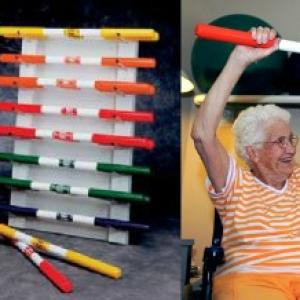 Therapy weight bars